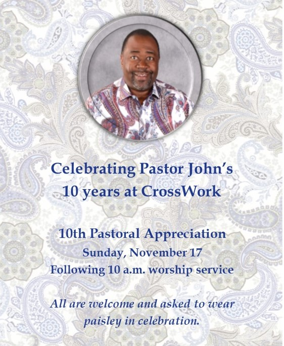 10th Pastoral Appreciation